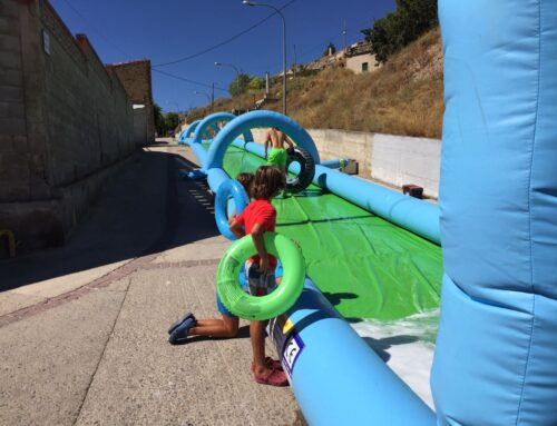 Deslizadores acuáticos hinchables con Dieserso