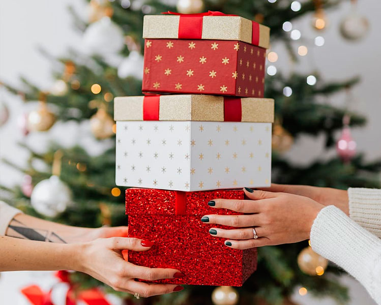 hinchables navideños para comercios