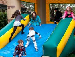 Fiestas de carnaval con hinchables