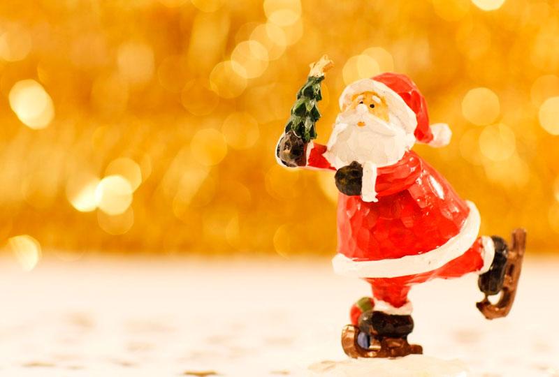 hinchables para disfrutar al aire libre en Navidad